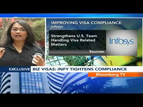 Market Pulse- Infosys Streamlines U.S. Biz Visa Use