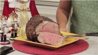 Christmas Holiday Treats : How To Make A Prime Rib Roast