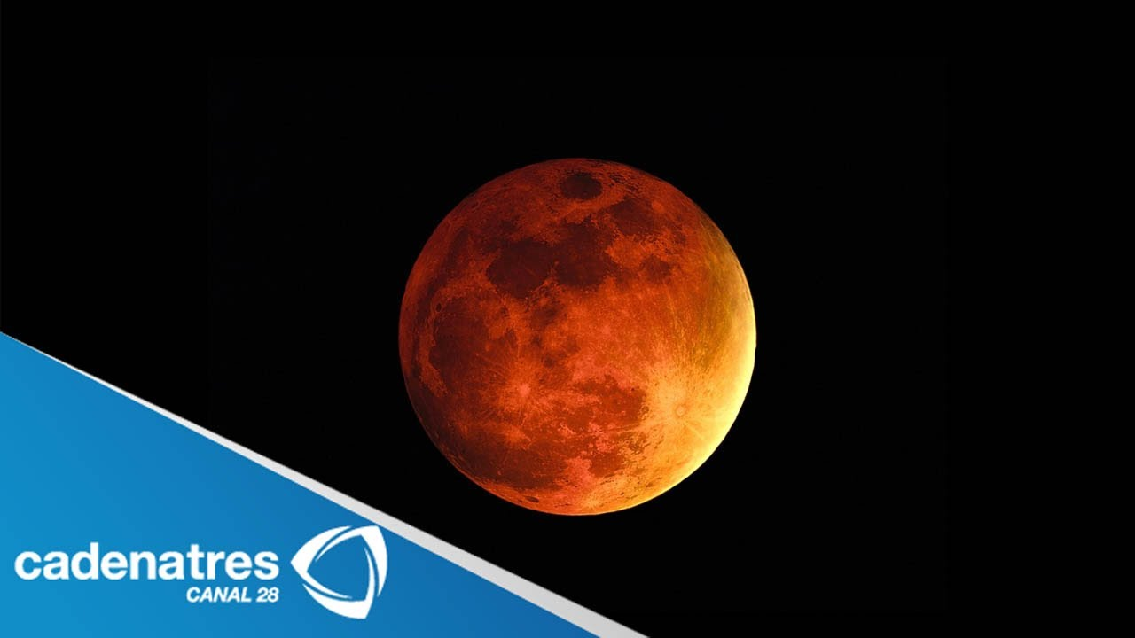 Blood Red Moon Mars