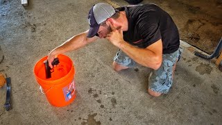 Firing A Pistol Submerged In Gasoline...