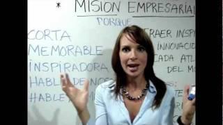Como hacer una misión empresarial