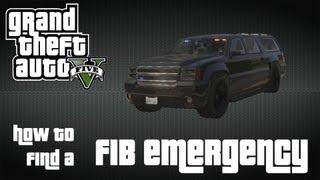 FIB BUFFALO SUV GRANGER LOCATION GTA 5 ONLINE