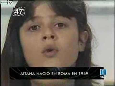 LA IMAGEN DE TU VIDA - Debut de Aitana Sánchez Gijón (1982)