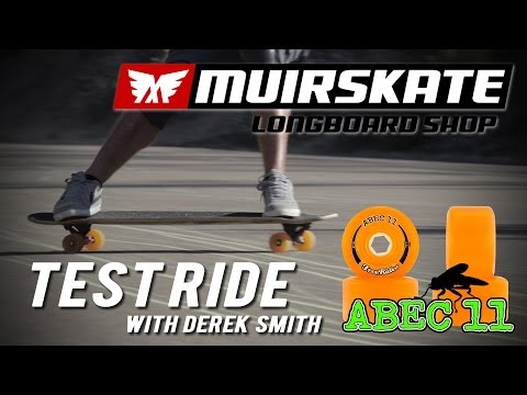 Test Ride Abec 11 Amber Freerides | MuirSkate Longboard Shop