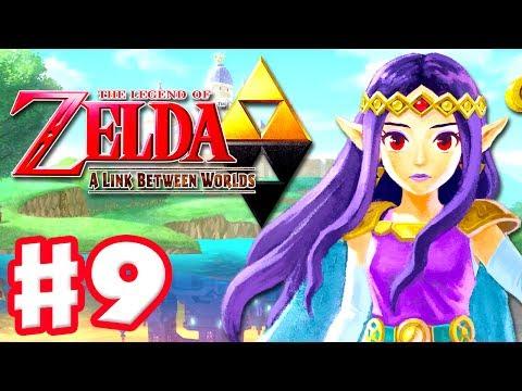 The Legend of Zelda: A Link Between Worlds - Gameplay Walkthrough Part 9 - Ganon Returns! (3DS)