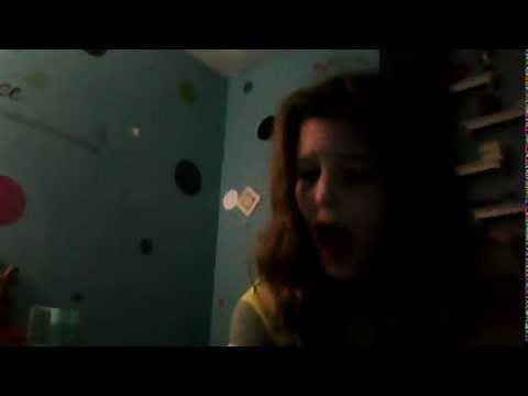 Webcam video from January 23, 2013 3:53 PM singing national  antheme  by cassidy mcgonigle