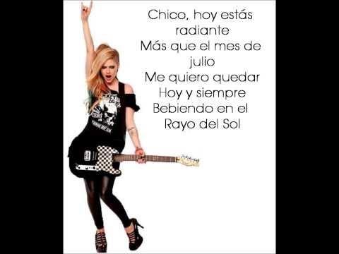Avril Lavigne - Sippin' On Sunshine [Traducida al Español]