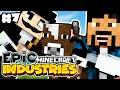 """PORTAL GUNS & COWS!"" EPiC INDUSTRIES - Minecraft Mods Adventure! #7"