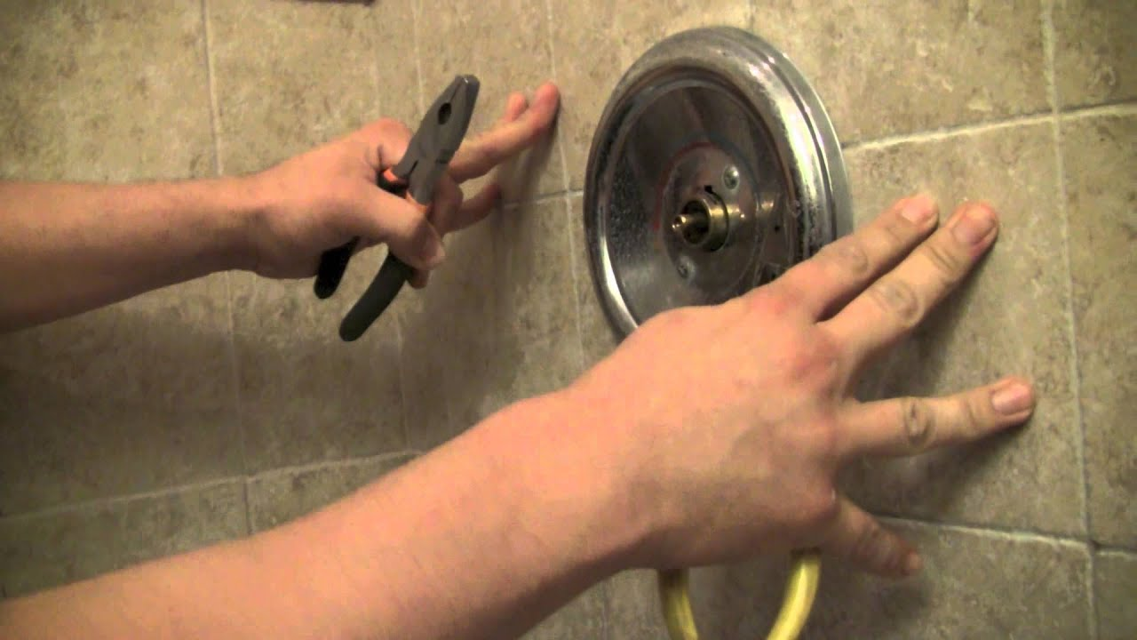 How To Repair A Moen Shower Faucet Step By Step YouTube