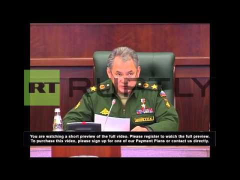 Russia: Military drills held to test defensive readiness - Shoigu