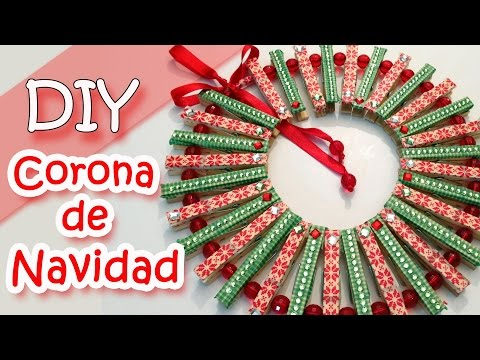 Manualidades para Navidad - Corona de Navidad | Christmas wreath