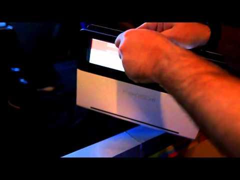 Прототип ультрабука Nikiski с прозрачным тачпадом