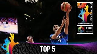 Top 5 Plays - 13 September - 2014 FIBA Basketball World Cup
