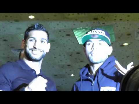 Amir Khan vs Luis Collazo Face-Off