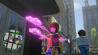 LEGO Marvel Super Heroes Gambit Free Roam Gameplay