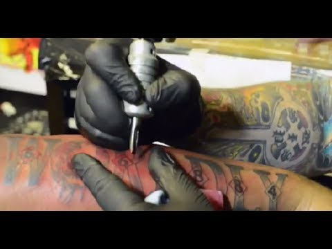 "Tech N9ne Gets ""Worldly Angel"" Tattoo"