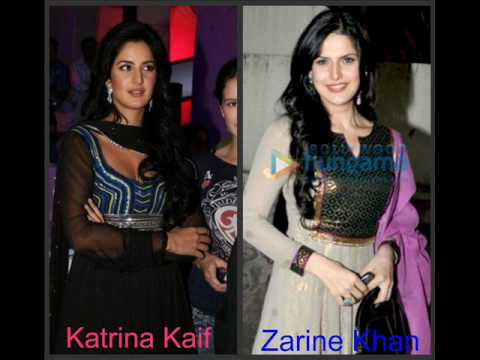 Katrina Kaif and Zarin...
