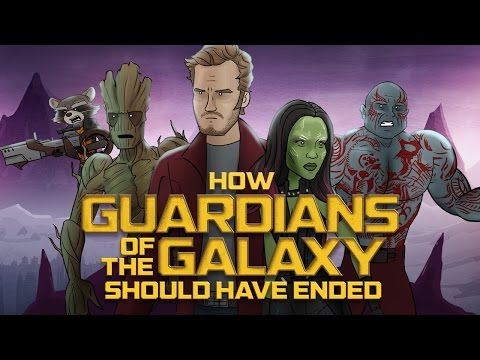 Alternate Guardians of the Galaxy Ending, A few alternate endings animated of Guardians of the Galaxy.