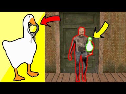 funny moments untitled goose vs Granny , Granpa , Icescream , Baldi