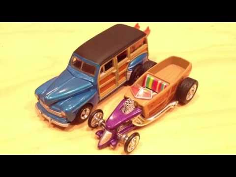 Hot Wheels 100% - Wild Wood: '48 Ford & '30s Custom Roadster Pickup