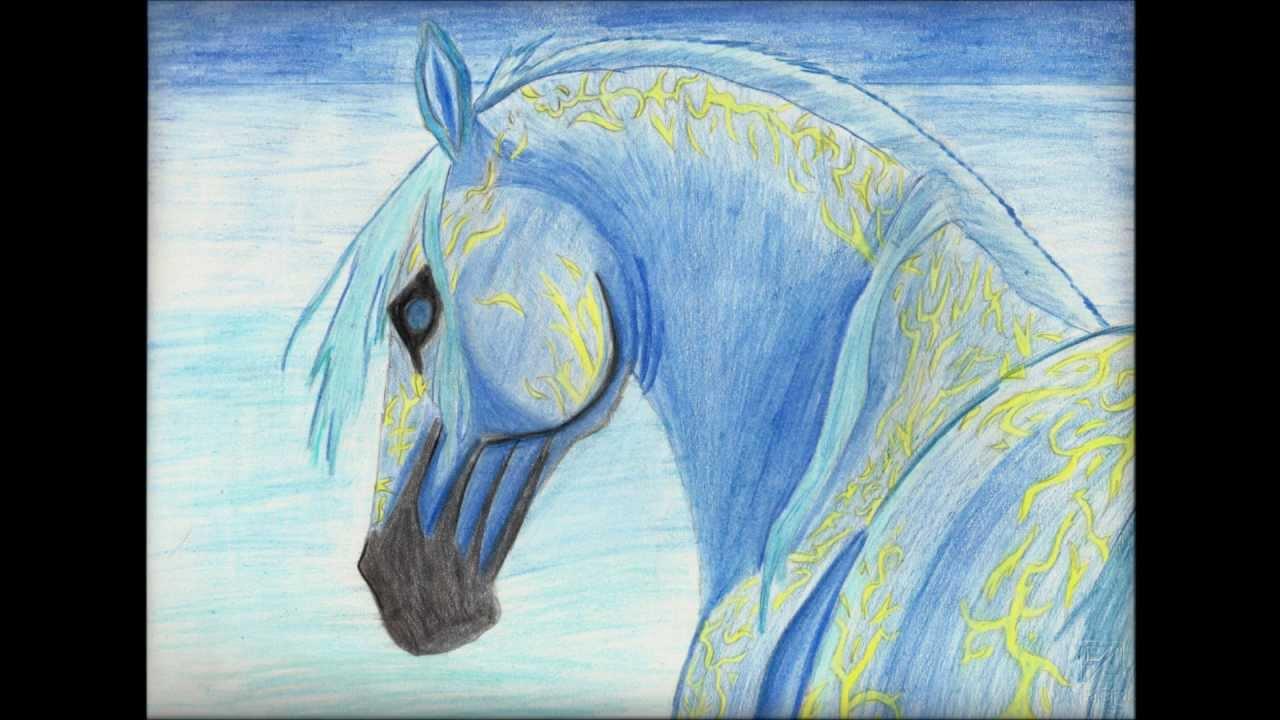 I miei disegni sui cavalli youtube for Disegni di cavalli a matita