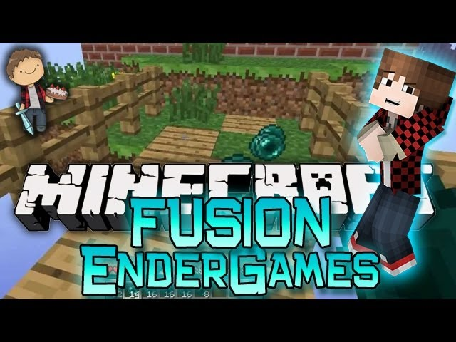 Minecraft: Ender Fusion Parkour Race! Mini-Game w/Mitch & Jerome!