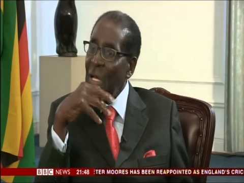 Robert Mugabe - 'Britain has gone to the Dogs' (BBC)