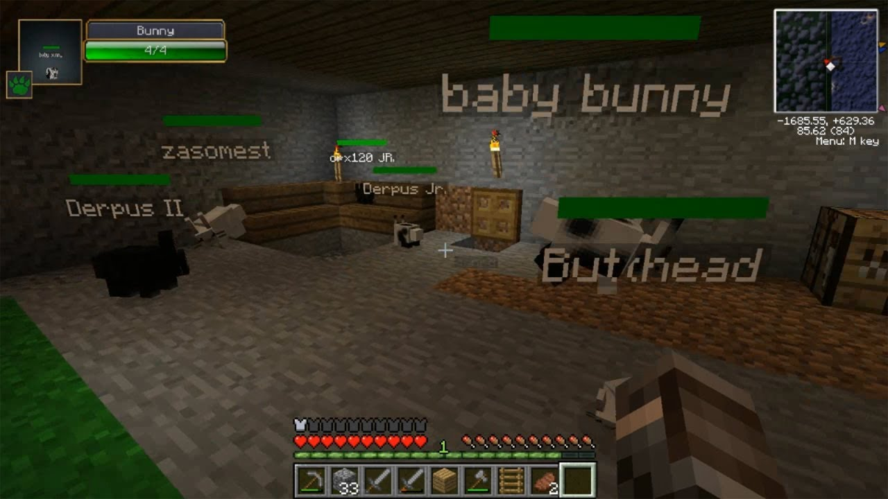 Minecraft Father Amp Son Survival Ep 15 The Rabbit