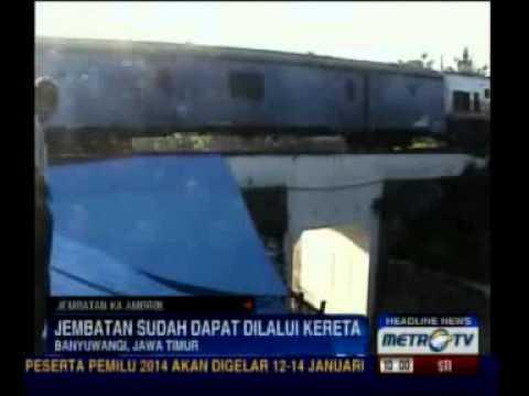 Jembatan di Banyuwangi sudah Bisa Dilalui KA