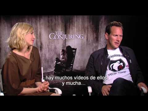 Hình ảnh trong video EL CONJURO - Entrevista con Vera Farminga y