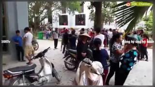 Nóng: Công an Quỳnh Lưu đánh người cướp của ngay tại nhà thờ Song Ngọc [108Tv]