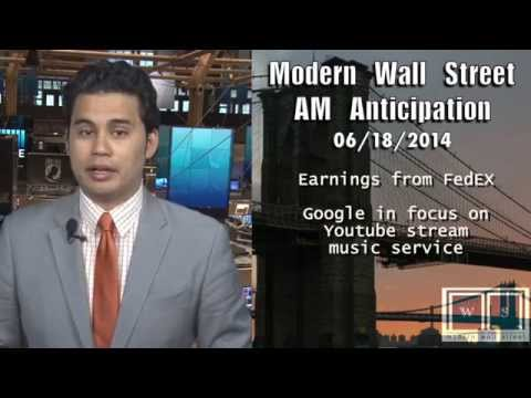 AM Anticipation: Futures flat ahead of Fed, Google unveils music streaming service