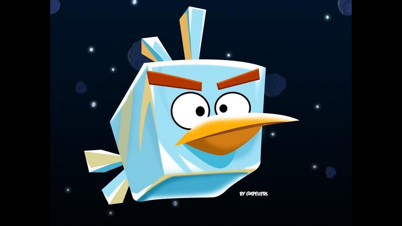 angry birds space ice bird - photo #2