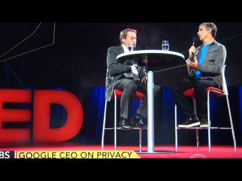Charlie Rose interview with Larry Page at TED 2014