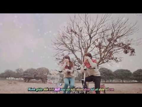 Tinh yêu màu nắng - Đoàn Thùy Trang ft.BigDaddy [Video Kara + sub]