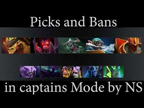 Гайды NS'a. Гайд №10 - Picks & Bans in Captains Mode