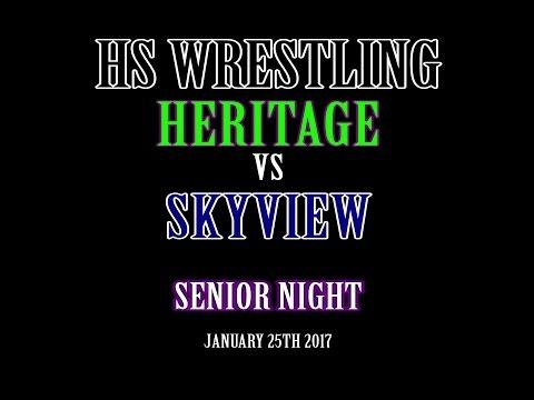 HS Wrestling: Heritage vs Skyview