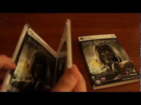 Распаковка Dishonored Специальное Издание от издателя 1С-Софтклаб.