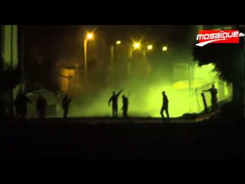image vidéo  حي التضامن:مواجهات بين مجموعة من الشبان وقوات الأمن