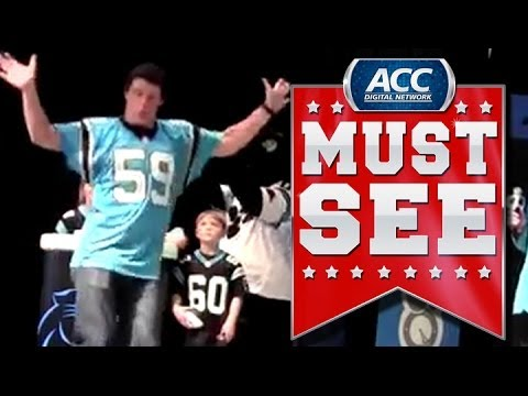 Luke Kuechly Dances to Vanilla Ice | ACC Must See Moment