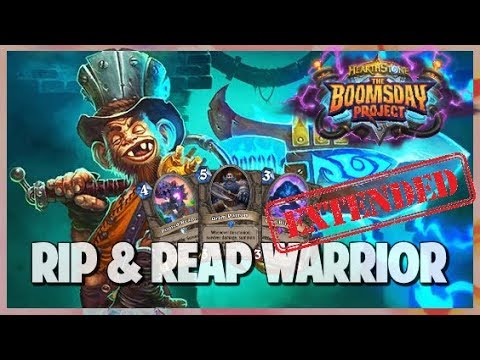 Rip & Reap Warrior | Extended Gameplay | Hearthstone | Boomsday Project