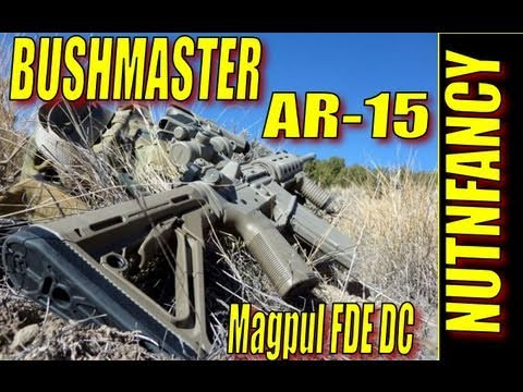 Bushmaster AR-15 in ACTION:  Reliable, Tough (in Magpul FDE DuraCoat)