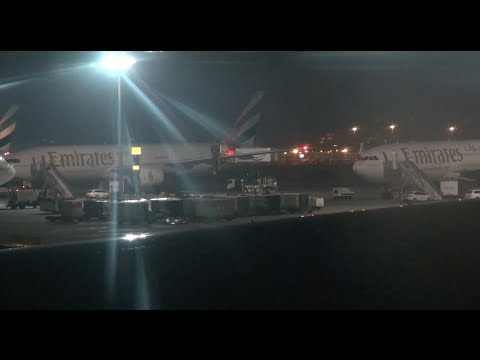 Adelaide to Dubai onboard the Emirates Boeing 777-300ER - Flight  EK441 - 13 Hours of Night!