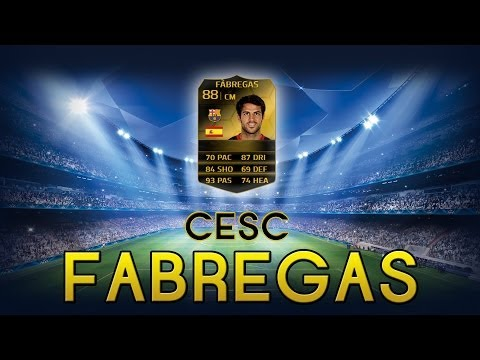 FUT14 | Player Review | Cesc Fabregas SIF (MC : 88) ! [FR]