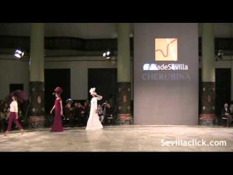 Cherubina en Moda de Sevilla 2012