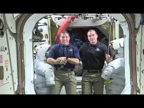 International Space Station Crew Discusses Life in Space with Chicago Media