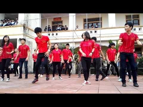 Lớp 12A6 - Giải nhất học kì 1 Nhảy dân vũ Trường THPT Nguyễn Thị Minh Khai - Đức Thọ - Hà Tĩnh
