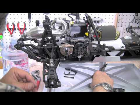 HPI Baja 5SC SS Build Video #34 Page 46-47-48