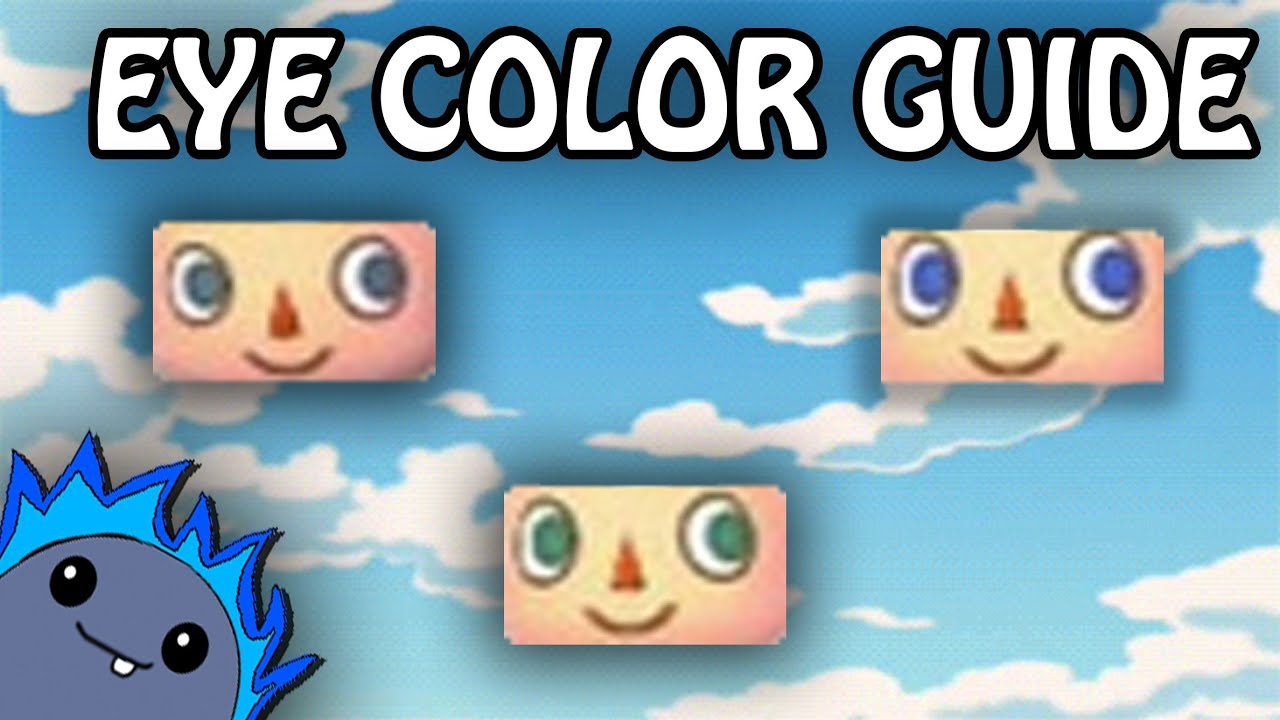 Acnl Eye Guide | eye color guide animal crossing new leaf
