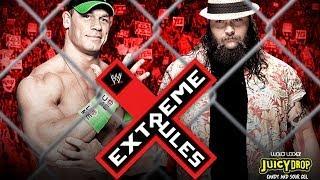 John Cena Vs. Bray Wyatt Extreme Rules 2014 WWE 2K14